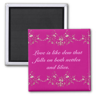 Love Quotation Magnet
