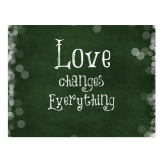 Love Quote Postcard