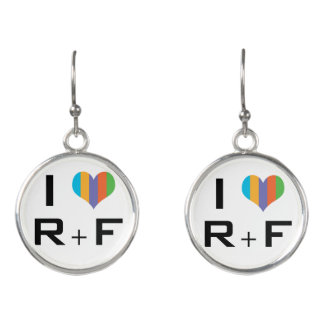 Love R+F skin care consultant Earrings