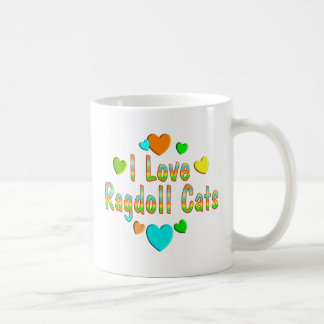 Love Ragdoll Cats Coffee Mug
