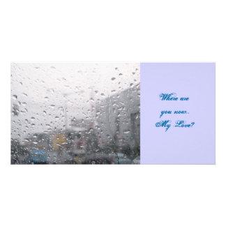 Love Rain Photo Card