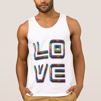 Love Rainbow Typography Text Only