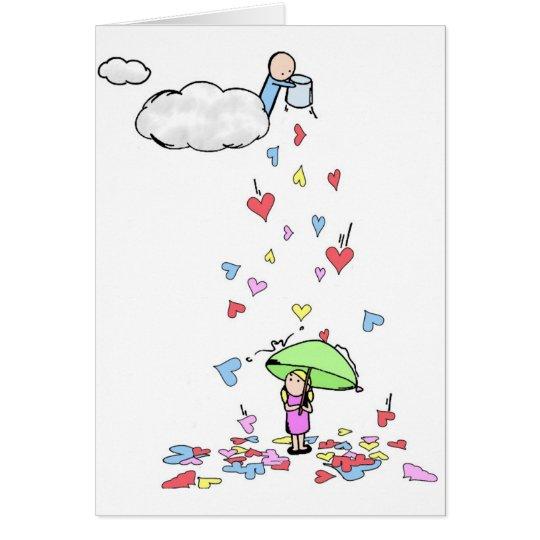 Love Rains Down Card