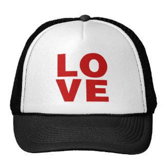 Love Red Retro Valentines Day Hat