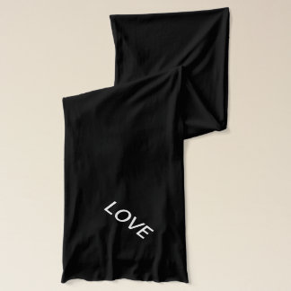 ''Love'' Red Scarf