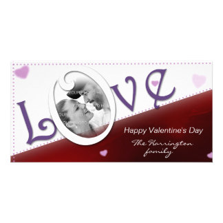 Love Red Valentine s Day Photo Card