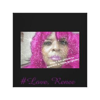 #Love, Renee Poster (Wall Art) Canvas Print