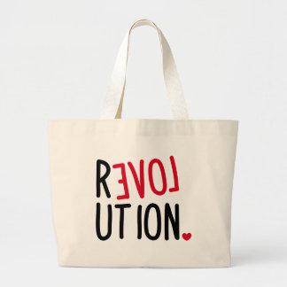 LOVE Revolution <3 Jumbo Tote Bag