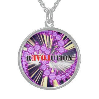 Love revolution collar amulet pendants
