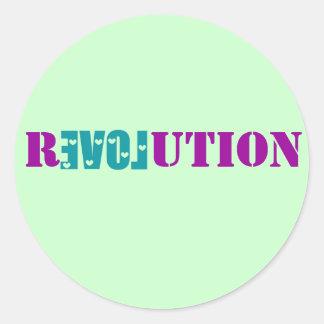 Love Revolution Sticker