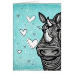 love rhino greeting cards