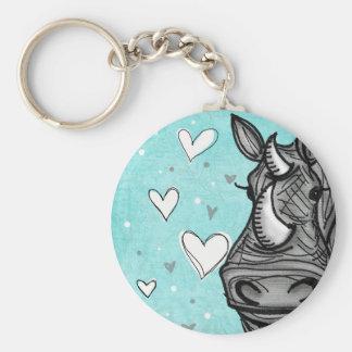 love rhino key ring