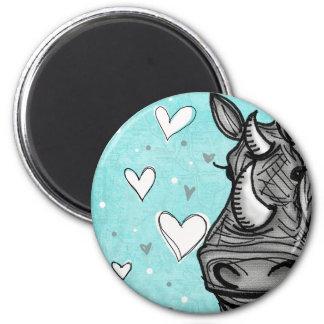 love rhino magnet