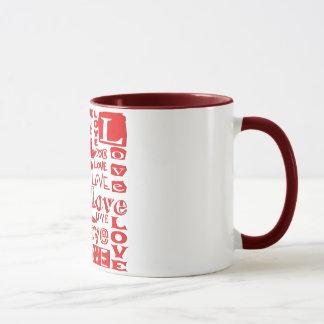 Love -  Ringer Mug