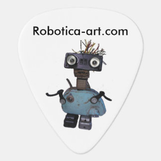 Love Robots? Play Guitar? Get this pick here!