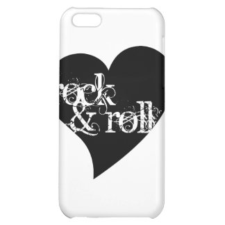 Love Rock & Roll Design Case For iPhone 5C