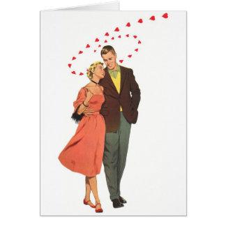Love & Romance Vintage Illustration Greeting Card