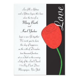 Love Rose Invitation