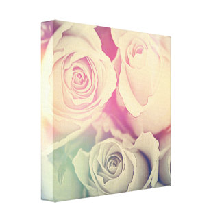 love roses Canvases Canvas Print