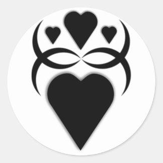 Love Round Sticker