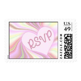 Love RSVP Postage Stamp