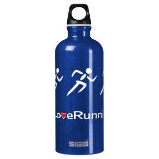 Love running exercise sport water bottle