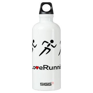 Love running workout sport water bottle