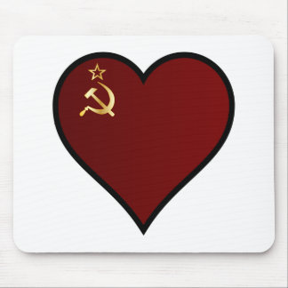 Love Russia Mouse Pad