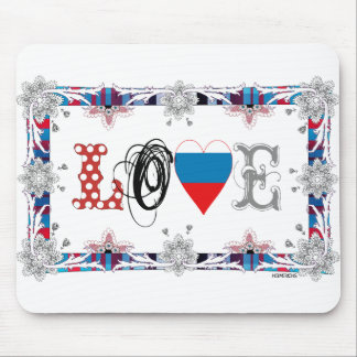 Love Russia Mouse Pads