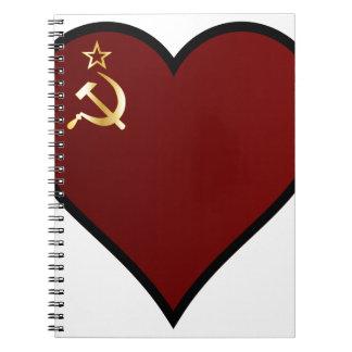 Love Russia Notebook