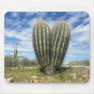 love saguaro mousepad