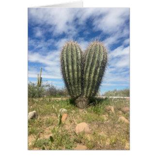 love saguaro notecard