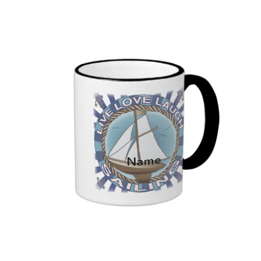 Love Sailing Coffee Mug