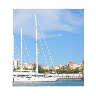 Love sailing notepad