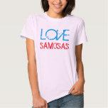 love samosas funny indian desi tshirt design
