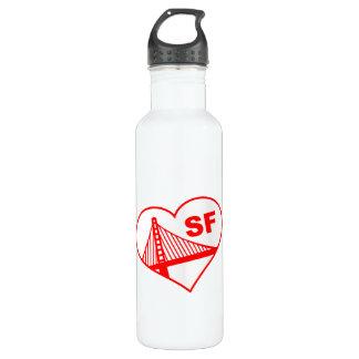 Love San Francisco Heart 710 Ml Water Bottle