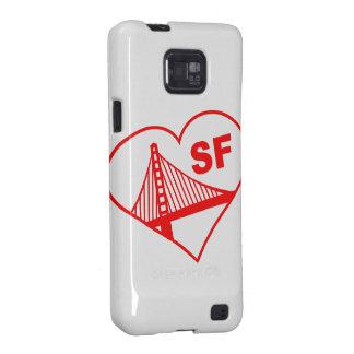 Love San Francisco Heart Galaxy S2 Cover