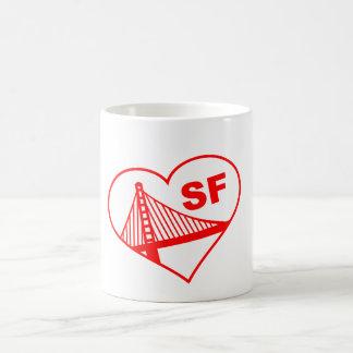 Love San Francisco Heart Mugs