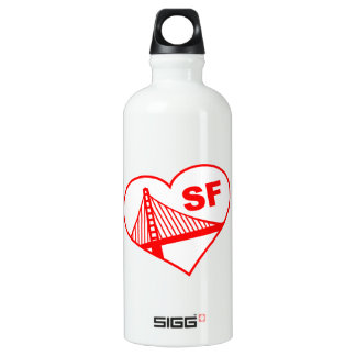 Love San Francisco Heart SIGG Traveller 0.6L Water Bottle
