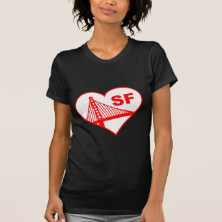 Love San Francisco Heart T-Shirt