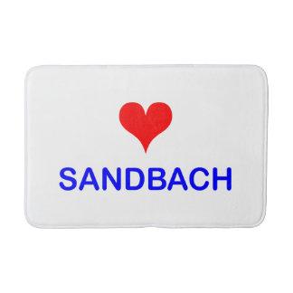 Love Sandbach Bath Mat