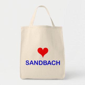 Love Sandbach Canvas Bag