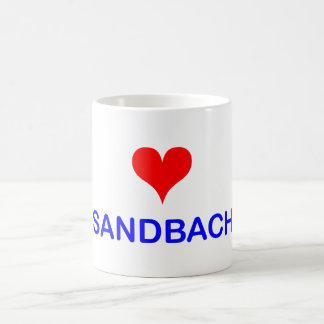 Love Sandbach Coffee Mug