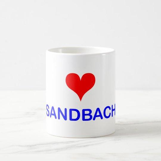Love Sandbach Coffee Mug
