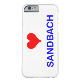 Love Sandbach iPhone Case