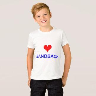 Love Sandbach Kid's T-Shirt