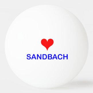Love Sandbach Ping Pong Ball (One Star)