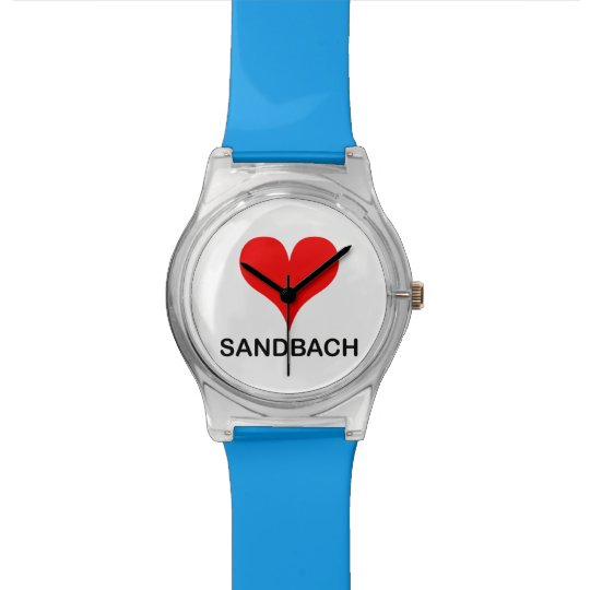 Love Sandbach Watch
