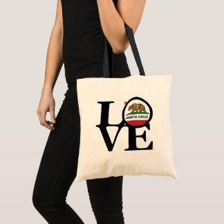 LOVE Santa Cruz Grocery Tote