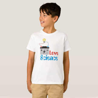 Love Science Kids T-Shirt